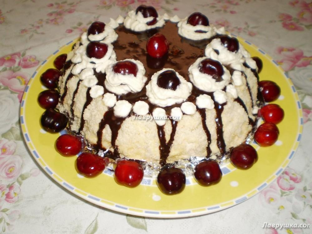 Рецепт торта с коржами фото